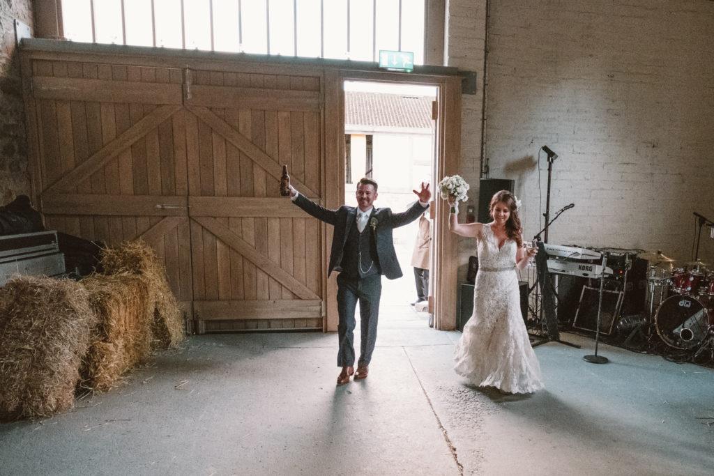 rustic bar wedding ireland