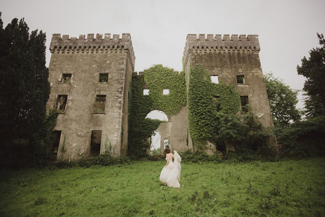 fairy tale Irish castle destination wedding