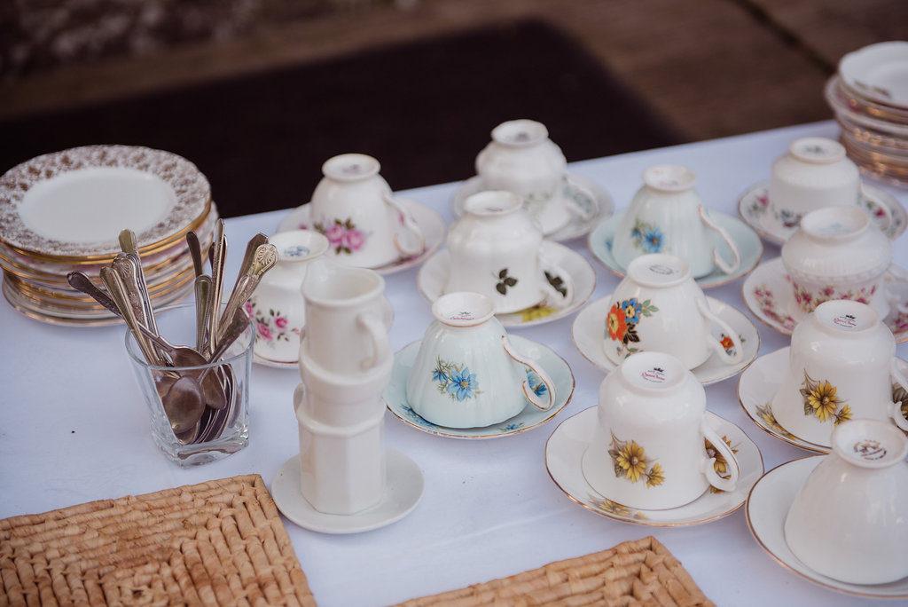 Irish wedding after noon tea