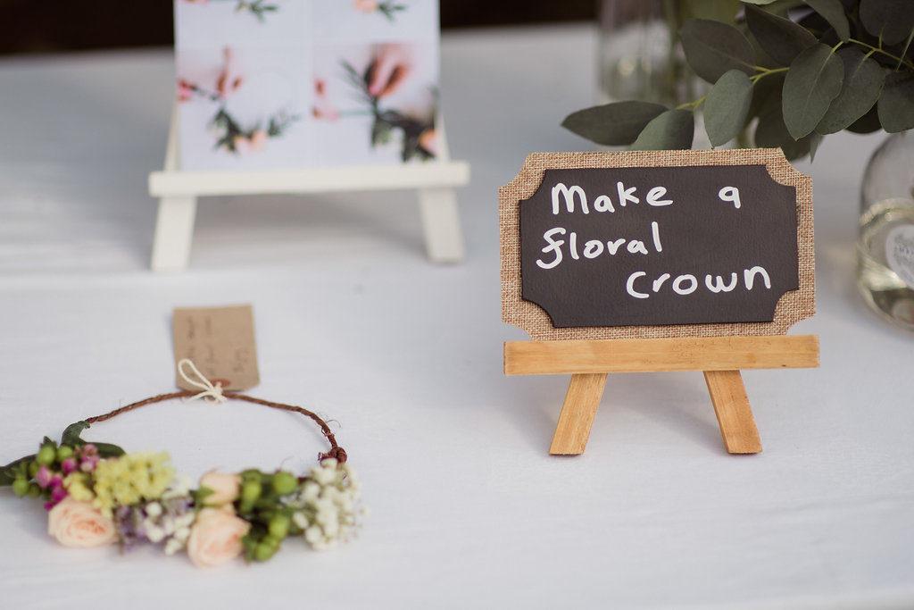 floral crown wedding Ireland