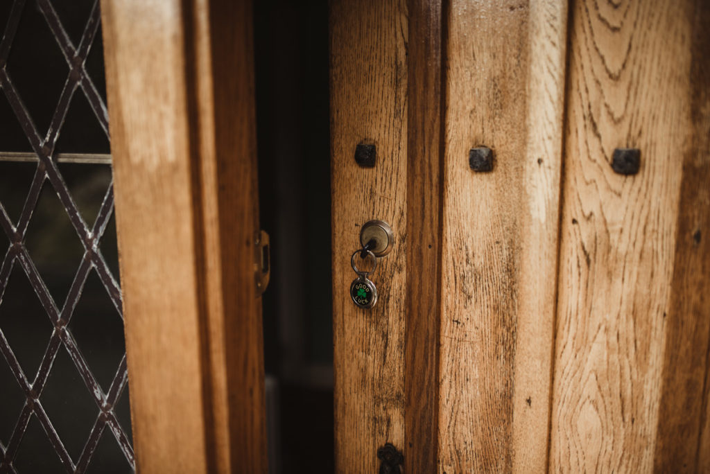 Family Fun in Glengarriff elopetoireland.com picture of a glengariff lodge front door